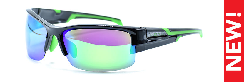 HEAD 158.013 BLACK/GREEN 6818