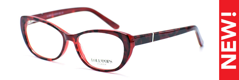 LOLLIPOPS 1283 C3 RED/TORTOISE 5115