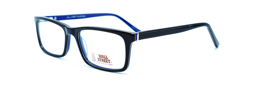 WALL STREET 744 BROWN/BLUE