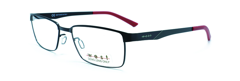 WEST 99535 C-1 BLACK/RED 5417